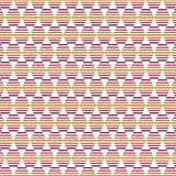 Triangle  Stripes Retro Vintage Ethnic Native Seamless Pattern. Colored Triangle  Stripe Lines  Abstract Vintage Ornaments Ethnic Native Seamless Fabric Pattern Royalty Free Stock Photography