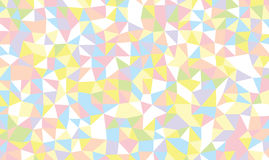 Colored triangles background Stock Images