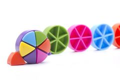 Round colors Royalty Free Stock Photo