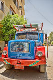 Colored truck Stock Images