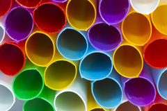 Colored tubules Royalty Free Stock Photos