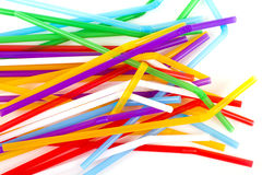 Colored tubules Stock Image