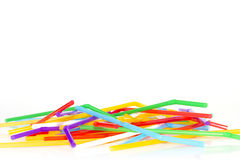 Colored tubules Royalty Free Stock Photo