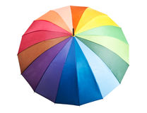 Colored Umbrella Stock Images