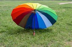 Colored umbrella Stock Image