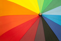 Colored umbrellas Stock Image