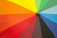 Colored umbrellas Stock Image