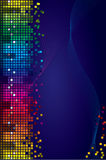Colored vector background Royalty Free Stock Photo