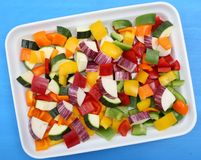 Colored vegetables. Stock Photo