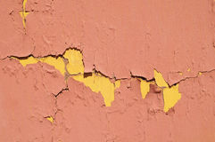 Colored Vintage Peeling Texture Royalty Free Stock Image