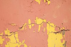 Colored Vintage Peeling Texture Stock Image