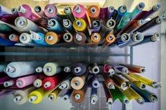 Color vinyl rolls stock images