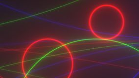 Colored VJ footage, background texture Abstract stock footage