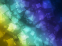 Colored wallpaper of rectangles. Abstract Background Artwork wallpaper Royalty Free Stock Photos