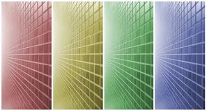 Colored walls Royalty Free Stock Photo