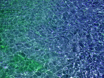 Colored water. Water Stock Photography