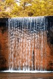 Colored waterfall Royalty Free Stock Photos