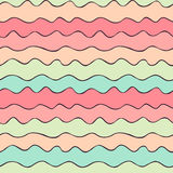 Colored Wavy Lines Royalty Free Stock Images