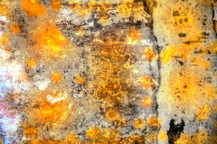 Colored weathered wall Royalty Free Stock Images