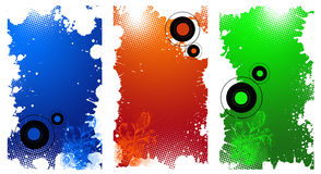 Colored website banners royalty free stock photos