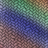 Colored weft. Woven texture background. Vintage colors Stock Photos