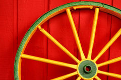 Colored Wheel Stock Image