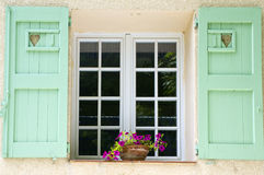 Colored window. A nice view of a colored window Royalty Free Stock Photo