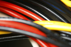 Colored wire Stock Images