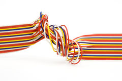 Colored wires Royalty Free Stock Photo