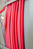 Colored wires Royalty Free Stock Photography