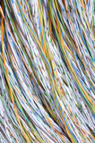 Colored wires Stock Image