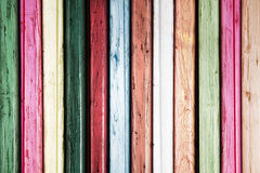 Colored wood background Stock Photo