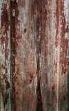 Colored wood background with peeling old paint Royalty Free Stock Photography