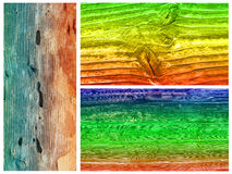 Colored wood Royalty Free Stock Photo