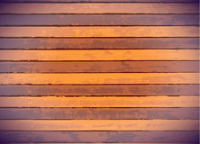 Colored wood panels Royalty Free Stock Images