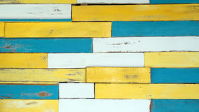 Colored wood plank texture nuatic theme background Stock Photography
