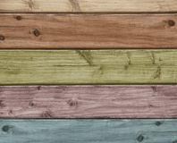 Colored wooden background Stock Photos