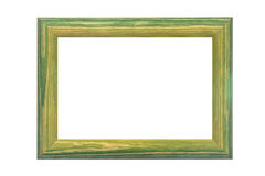 Colored wooden frame Royalty Free Stock Image