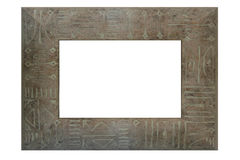 Colored wooden frame Royalty Free Stock Photography