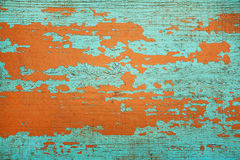 Colored wooden grunge texture  background. Blue and orange wooden grunge texture  background Royalty Free Stock Photography