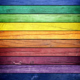 Colored wooden texture Royalty Free Stock Image