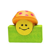 Colored wooden toys Royalty Free Stock Photos