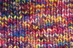 Colored wool Royalty Free Stock Images