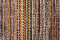 Colored wool in close up stock photos