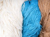 Colored Wools Threat I Stock Image
