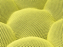 The colored yellow abstract background mesh checkered Royalty Free Stock Photos