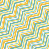 Colored zigzag lines Stock Photography