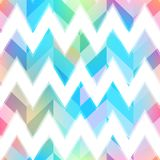 Colored zigzag seamless pattern. Eps 10 vector file Royalty Free Stock Photo