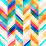 Colored zigzag seamless pattern. Vector eps 10 Royalty Free Stock Image