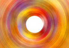 Colored zoom pattern Stock Photography